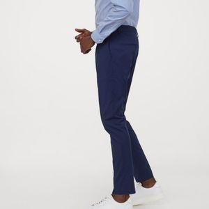 H&M men men's super skinny fit suit pants 30R